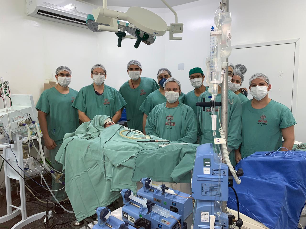Cirurgiões-dentistas compõem equipe multiprofissional na Santa Casa